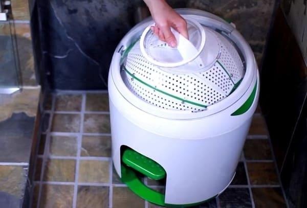 Máy giặt đạp chân